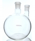 Flat Bottom 24/29 2 Neck Flask 1000ml