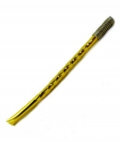 Bombilla - Yellow Coloured Metal with Steel Spring