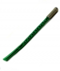 Bombilla - Green Coloured Metal with Steel Spring