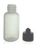 Plastic Bottle Luer-Lock 1oz