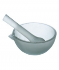 Glass Mortar & Pestle 90mm