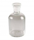 Clear Glass Reagent Bottle 125ml