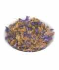 Blue Mallow dried flowers 100g