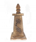 Wooden Incense Cone Burner 18cm