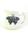 Milk Jug with Butterfly Design