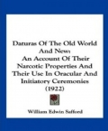 Daturas of the Old World and New