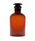 Amber Glass Reagent Bottle 125ml