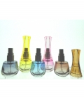 Glass Atomiser 10ml with Fluted Plastic Cap